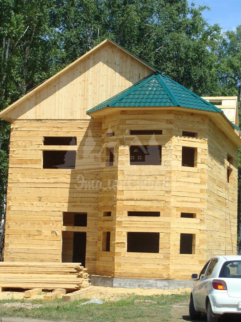 Дом из бруса 147 м2