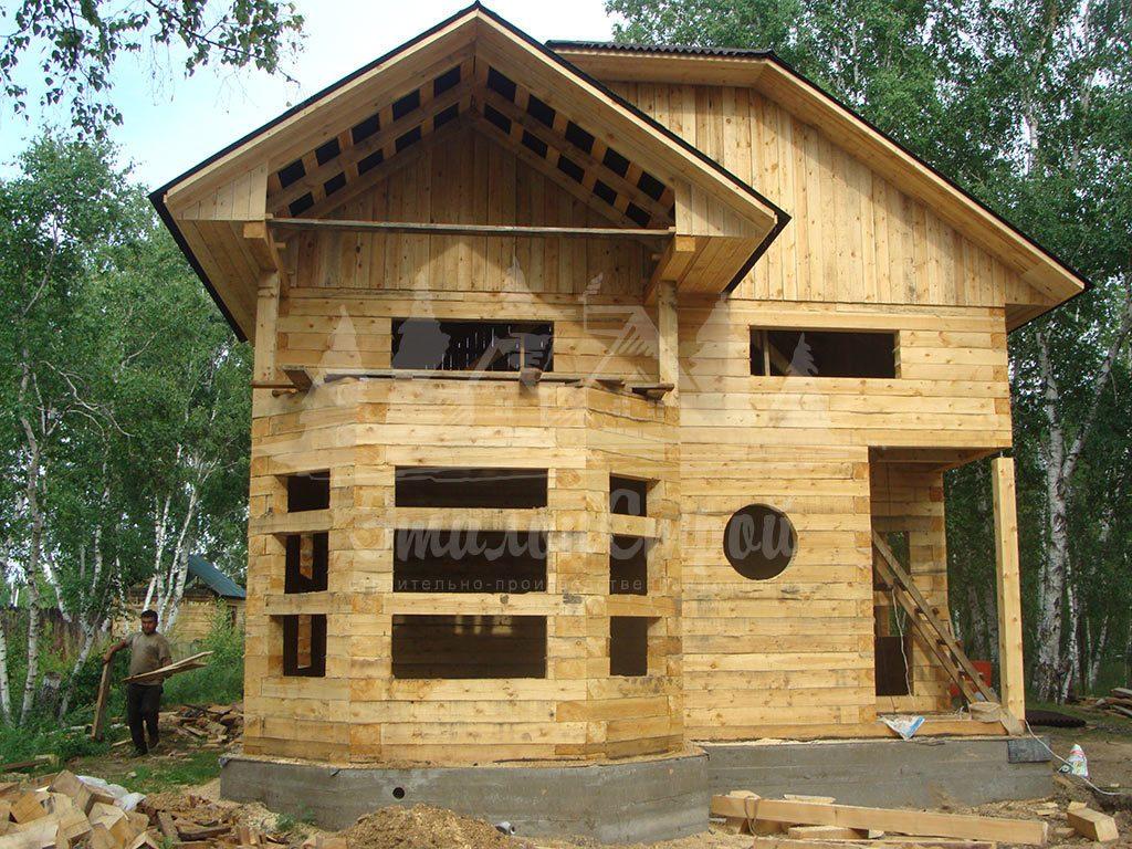 Дом из бруса 166,6 м2