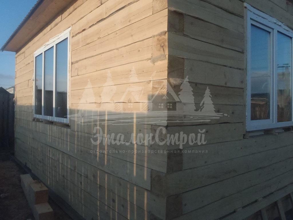 Дом из бруса 35 м2