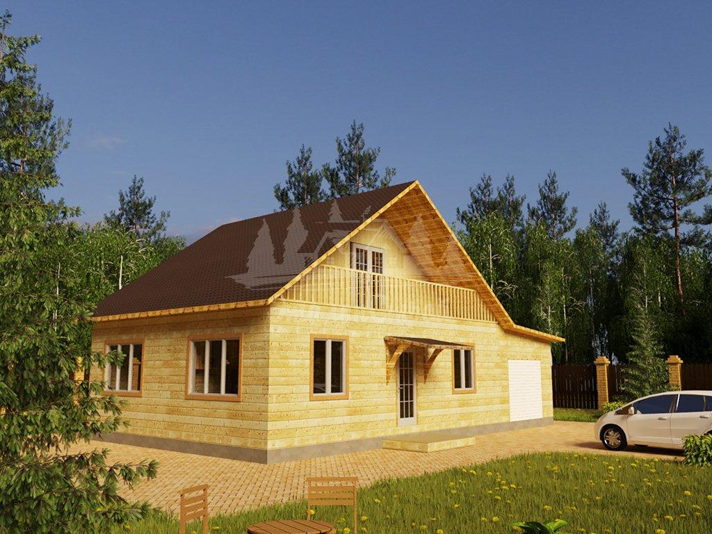 Одноэтажный жилой дом в Чите 80 кв.м с гаражом