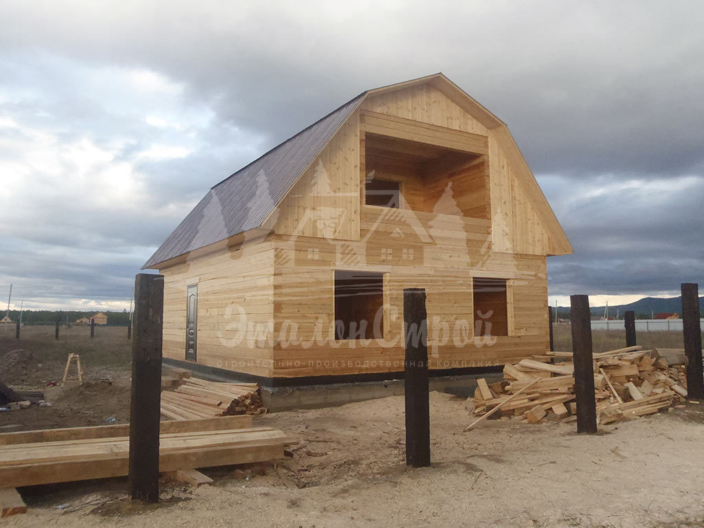 Дом из бруса 108 м2