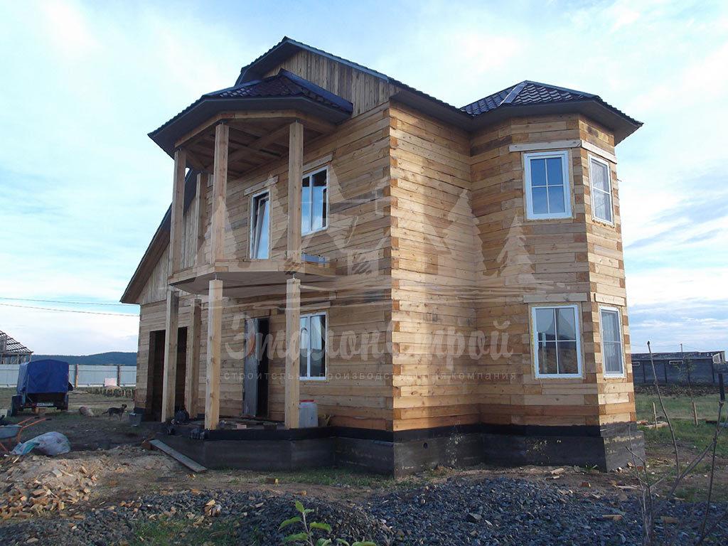 Дом из бруса 119 м2