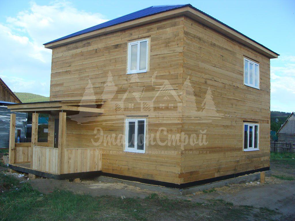 Дом из бруса 128 м2