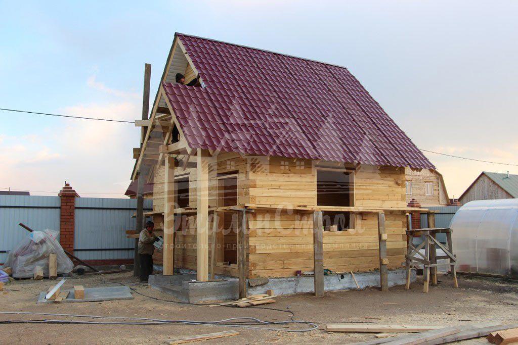 Дом из бруса 45 м2