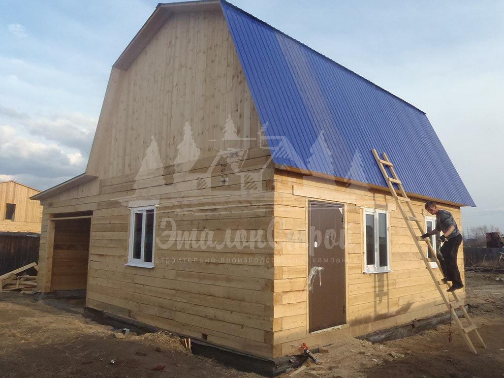 Дом из бруса 48 м2