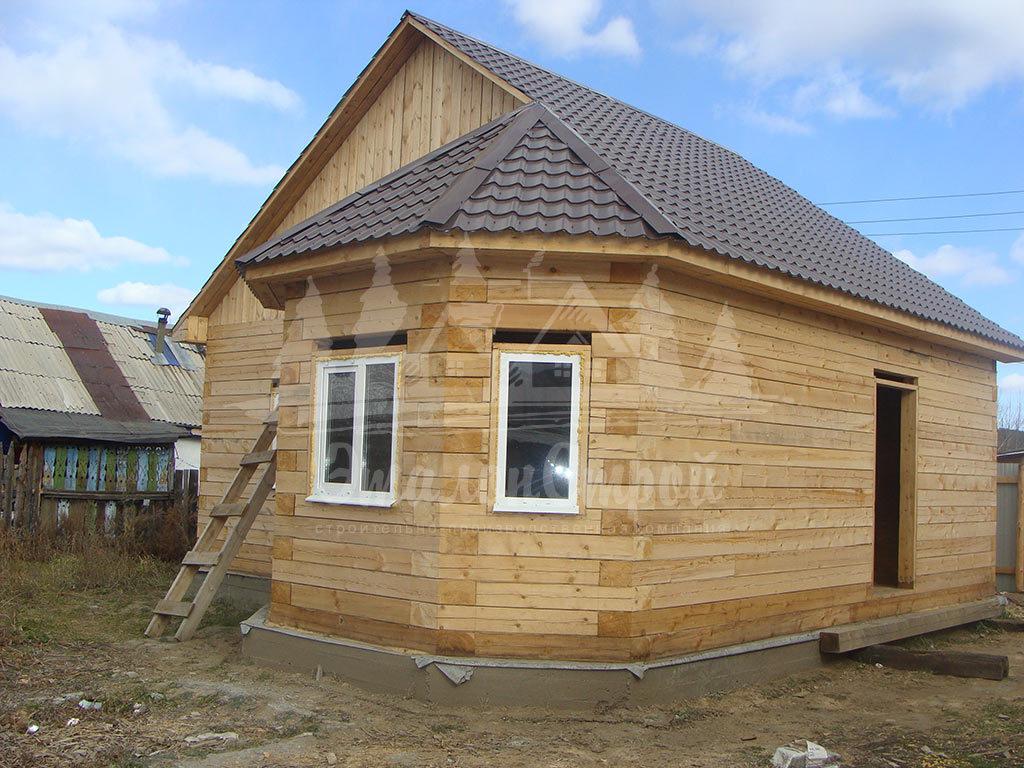 Дом из бруса 57 м2