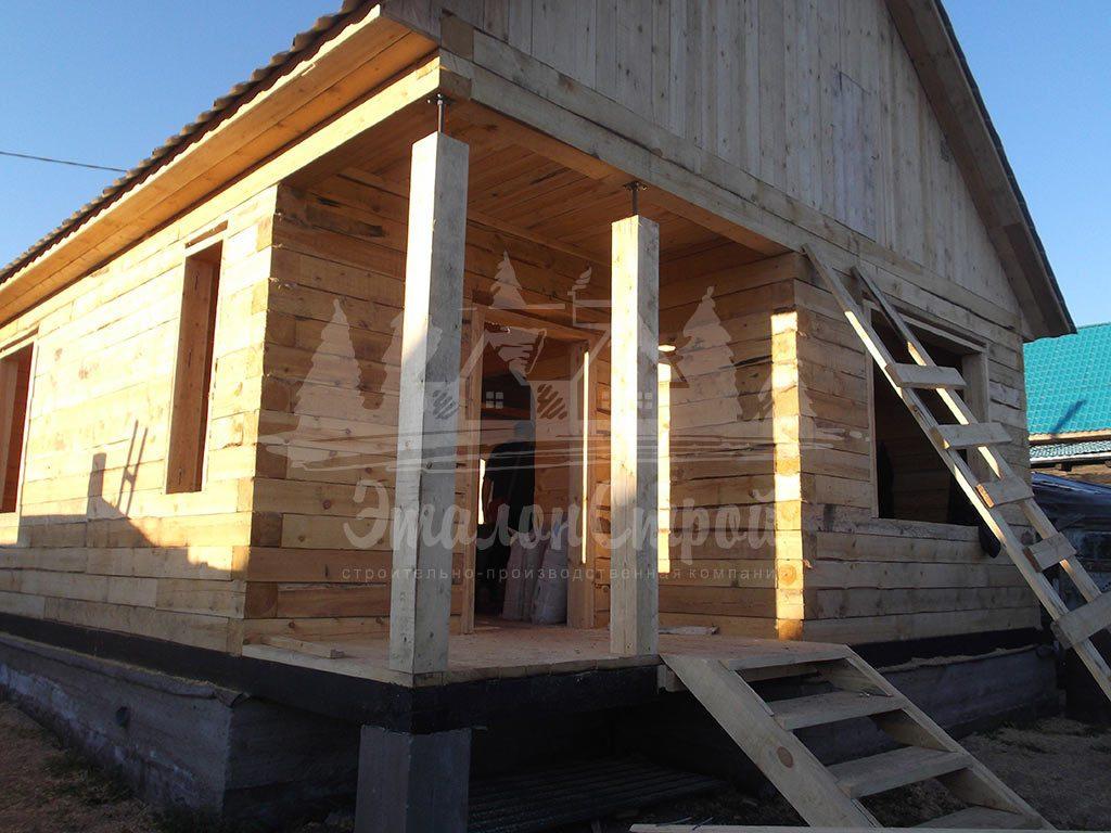 Дом из бруса 58,5 м2