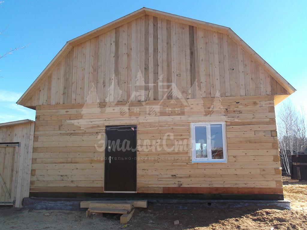 Дом из бруса 64 м2