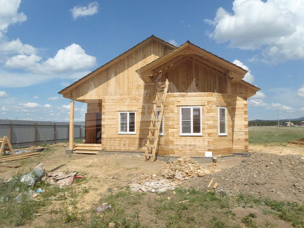 Дом из бруса 82 м2