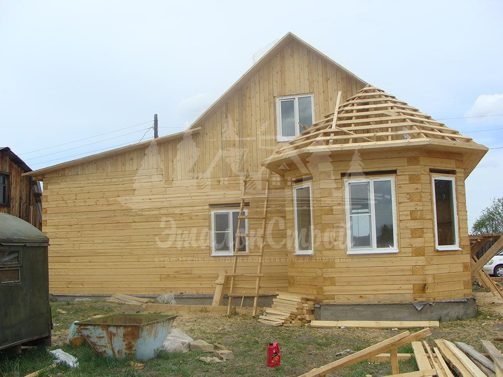 Дом из бруса 93 м2