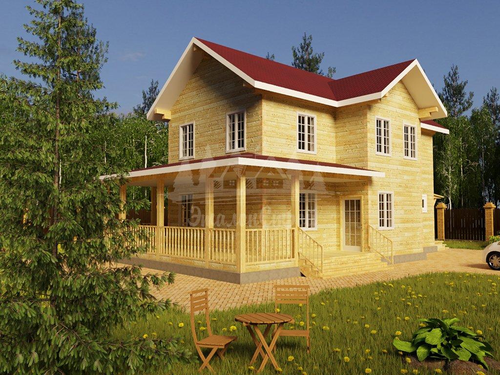 Двухэтажный жилой дом в Чите 168 кв.м