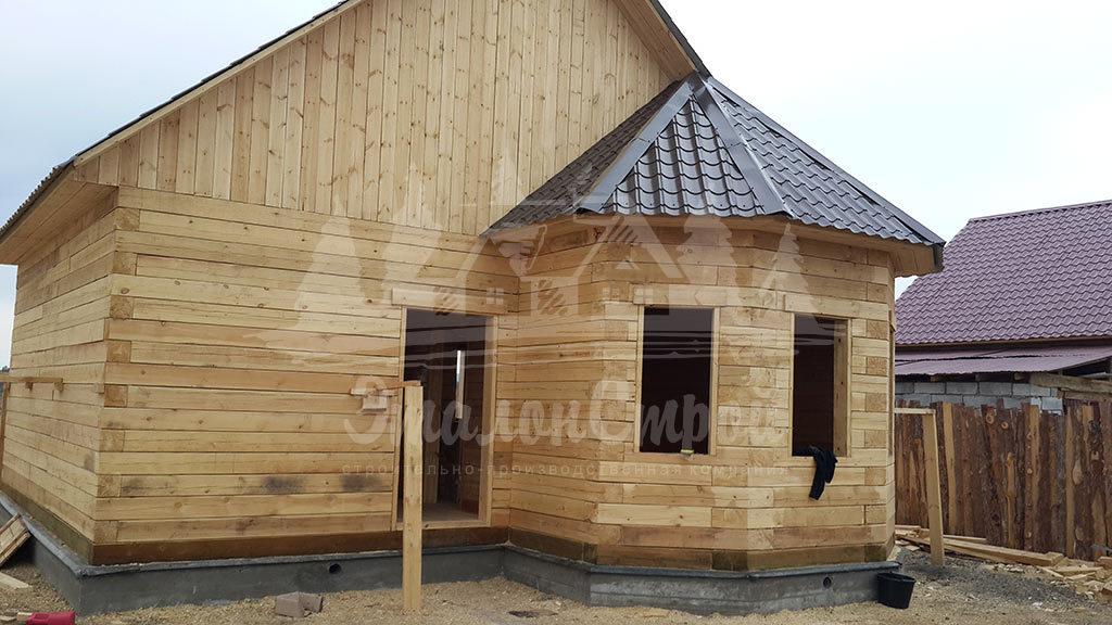 Дом из бруса 65 м2
