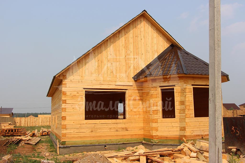 Дом из бруса 83 м2