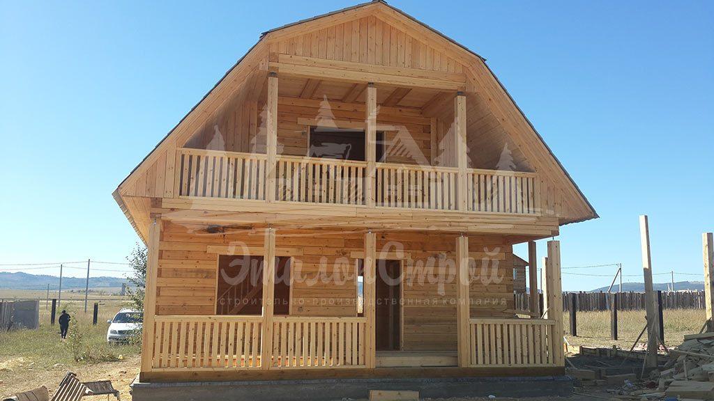 Дом из бруса 96 м2