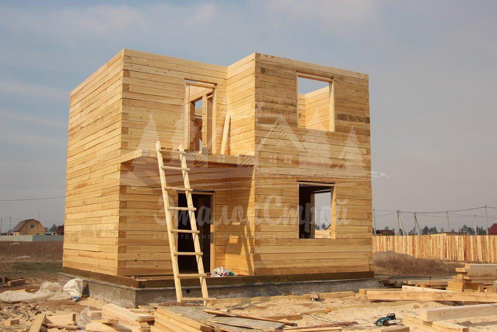 Дом из бруса 98 м2