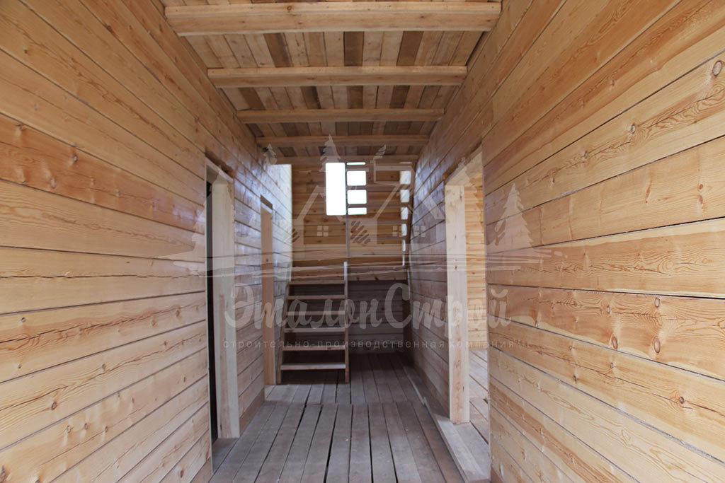Дом из бруса 200 м2 под ключ