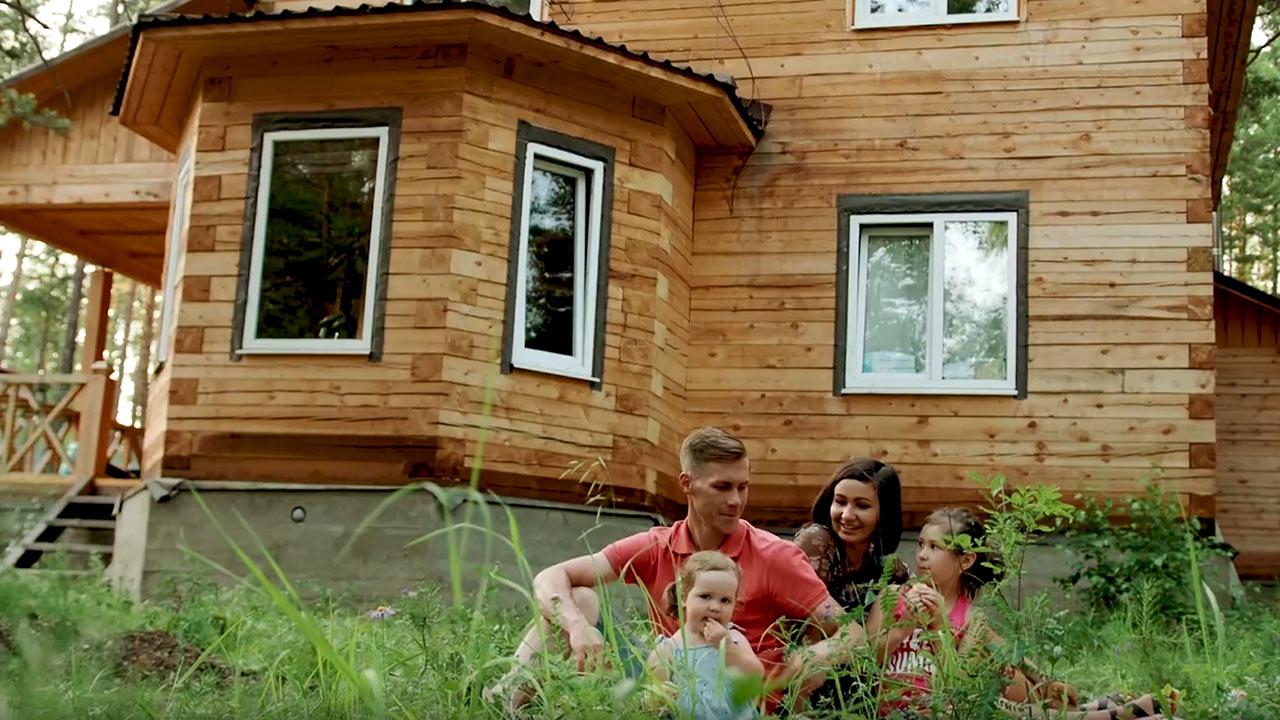 Отзыв на построенный дом от семьи Зубович ЭталонСтрой