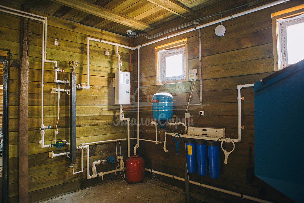 Монтаж систем водоснабжения в частный дом под ключ ЭталонсСтрой