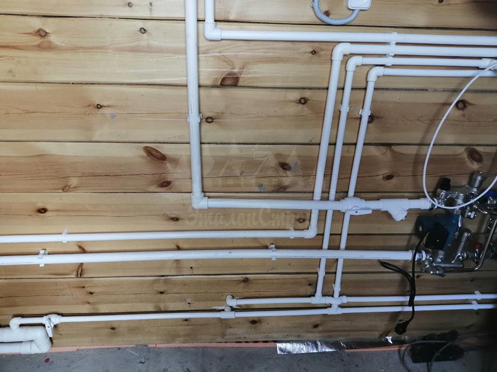 Монтаж систем водоснабжения в частный дом под ключ ЭталонсСтрой 4