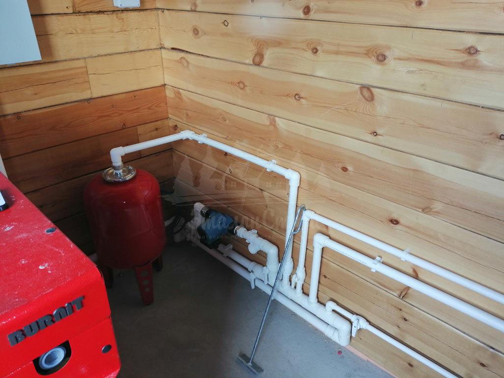 Монтаж систем водоснабжения в частный дом под ключ ЭталонсСтрой 5
