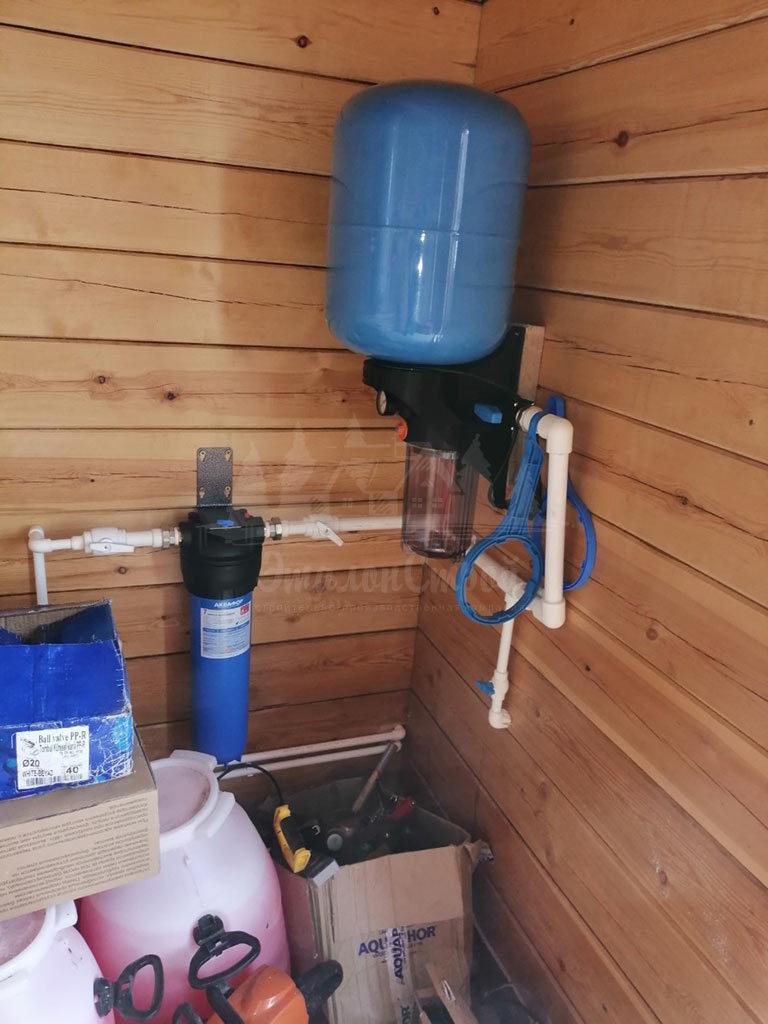 Монтаж систем водоснабжения в частный дом под ключ ЭталонсСтрой 6