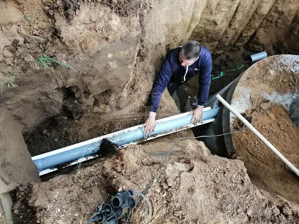 Монтаж системы канализации в частный дом под ключ ЭталонсСтрой 1