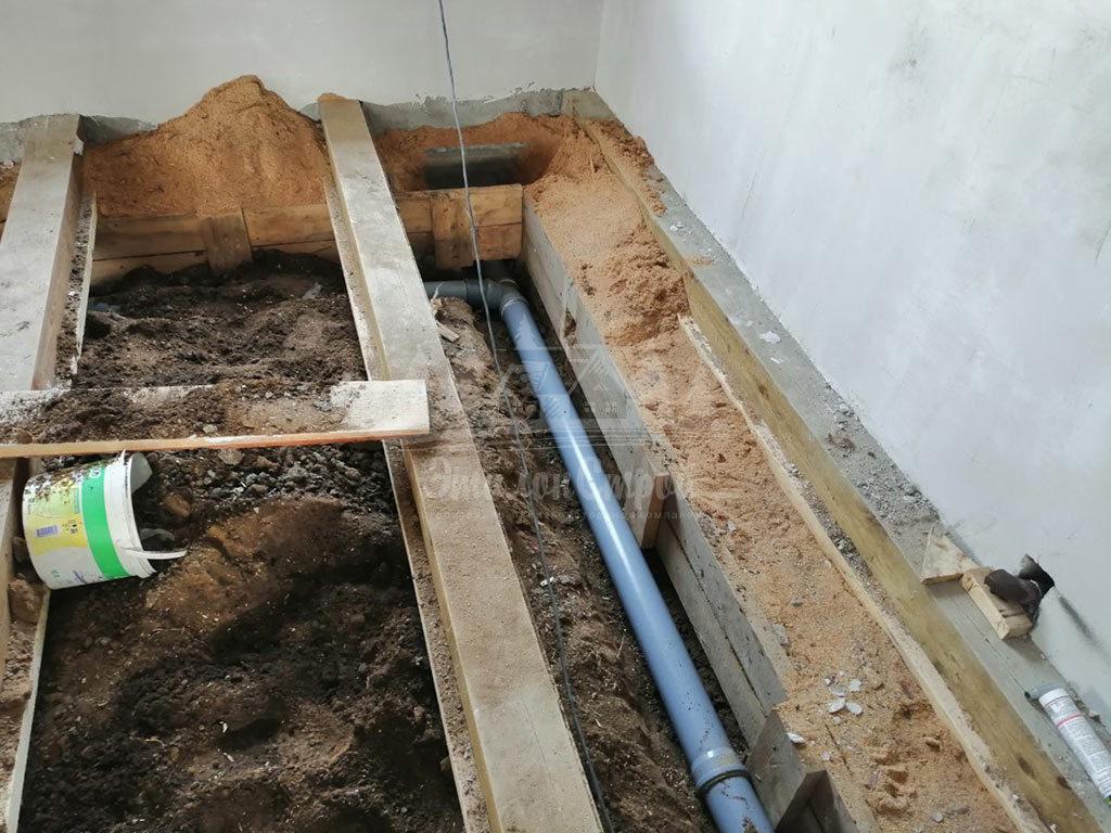 Монтаж системы канализации в частный дом под ключ ЭталонсСтрой 3