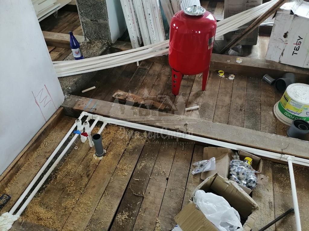 Монтаж системы канализации в частный дом под ключ ЭталонсСтрой 8