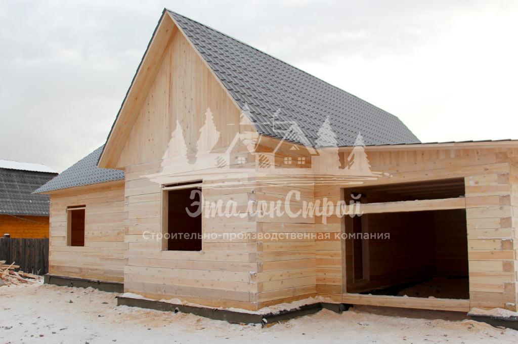 Фотографии построенных домов ЭталонСтрой