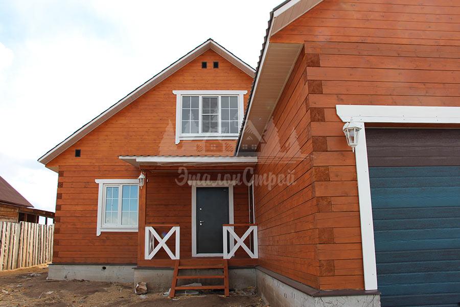 Дом с мансардой 128 кв. м в Карповке