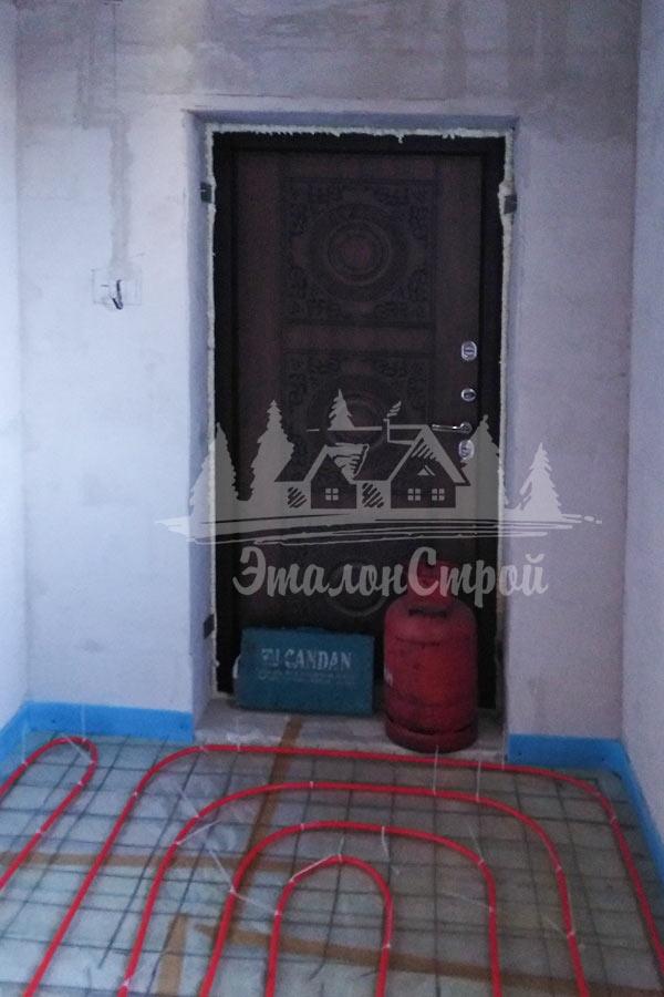 Комбинированный дом из газобетона с мансардой